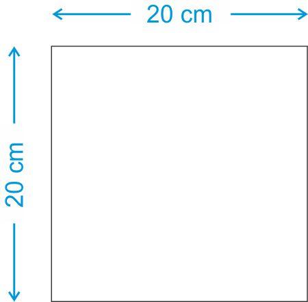 Placa de MDF 20x20 Sublimatica