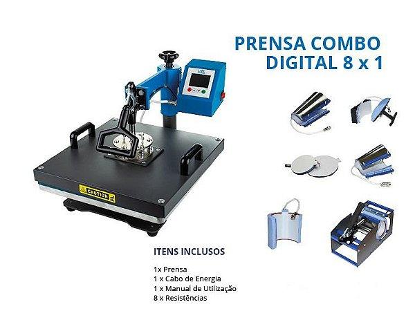 kit Professora prensa 8x1 + impressora L3110