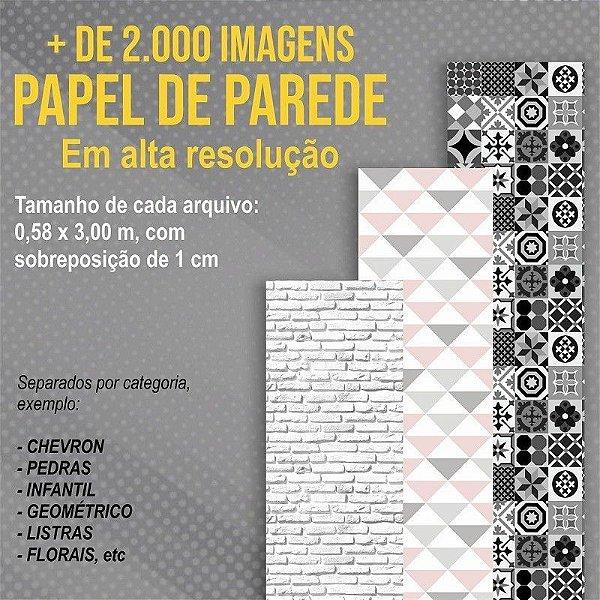 Microfranquia Papel de Parede Home Office - FRA0001