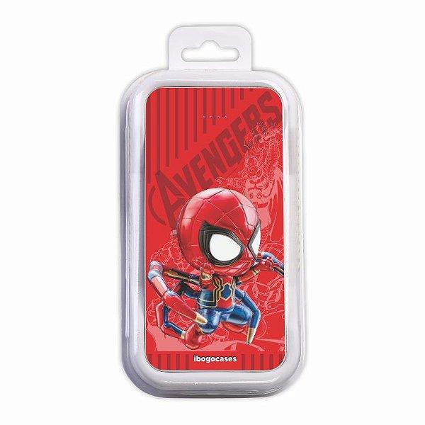 Carregador Portátil Power Bank - Homem-aranha