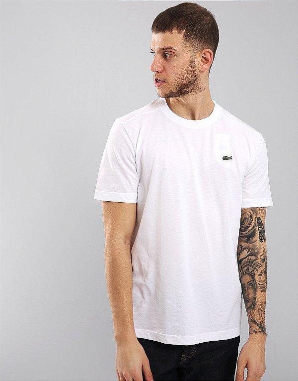 64a9d1c9f Camiseta Masculina Lacoste Básica Branca - General Premium Store