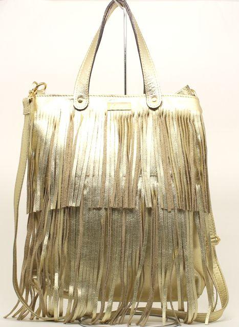 Bolsa dourada - Anjeli Bolsas e Acessórios 5771d3295a5