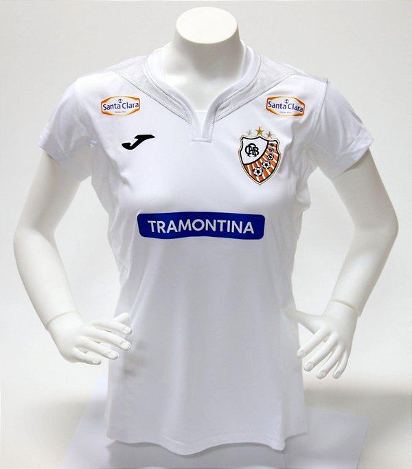 Camisa Oficial Branca 2018 Feminina