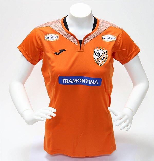 Camisa Oficial Laranja 2018 feminina