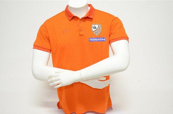 Camisa Pólo Laranja Piquet