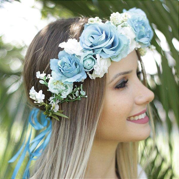 Tiara de Flores Céu