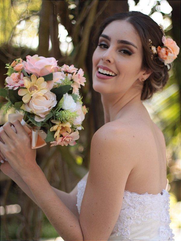 Buquê de Flores Noiva Encanto