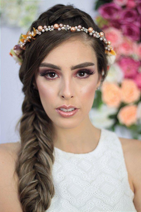Coroa de Flores L'Amour Salmão
