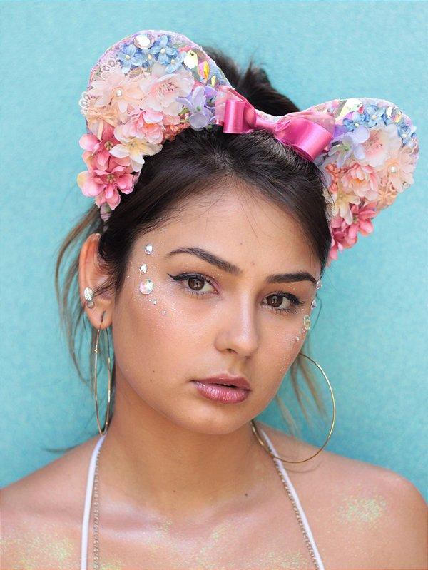Tiara Minnie Flores Malibu