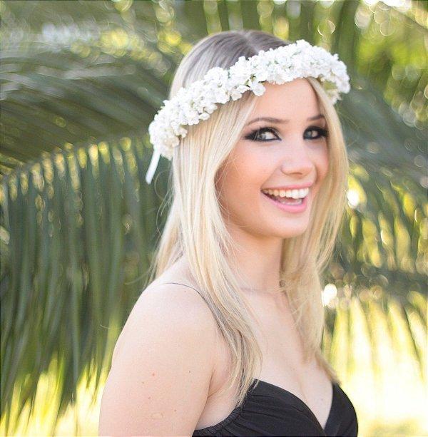 Tiara de Flores Mosquitinho Mylena