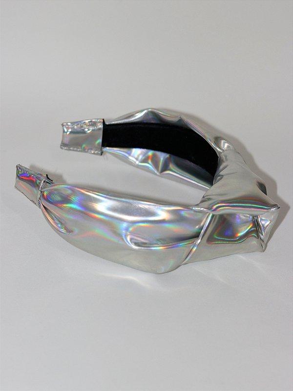 Tiara Chloe  Holográfica Metal