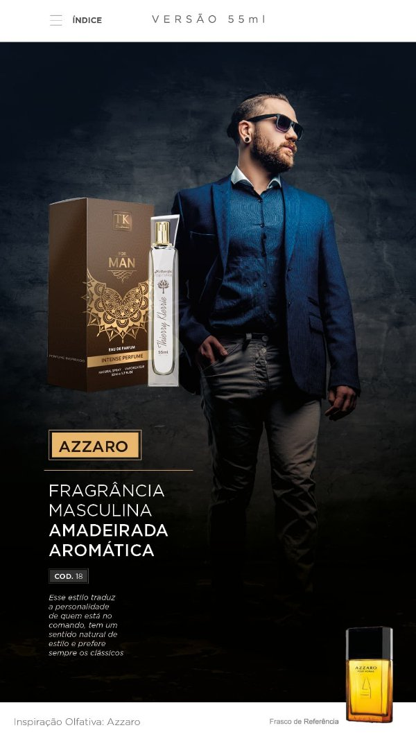 18 INSPIRAÇÃO TK - AZZARO 55 ML