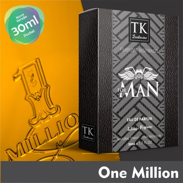 A16 INSPIRAÇÃO TK - ONE MILLION MEN 30 ML