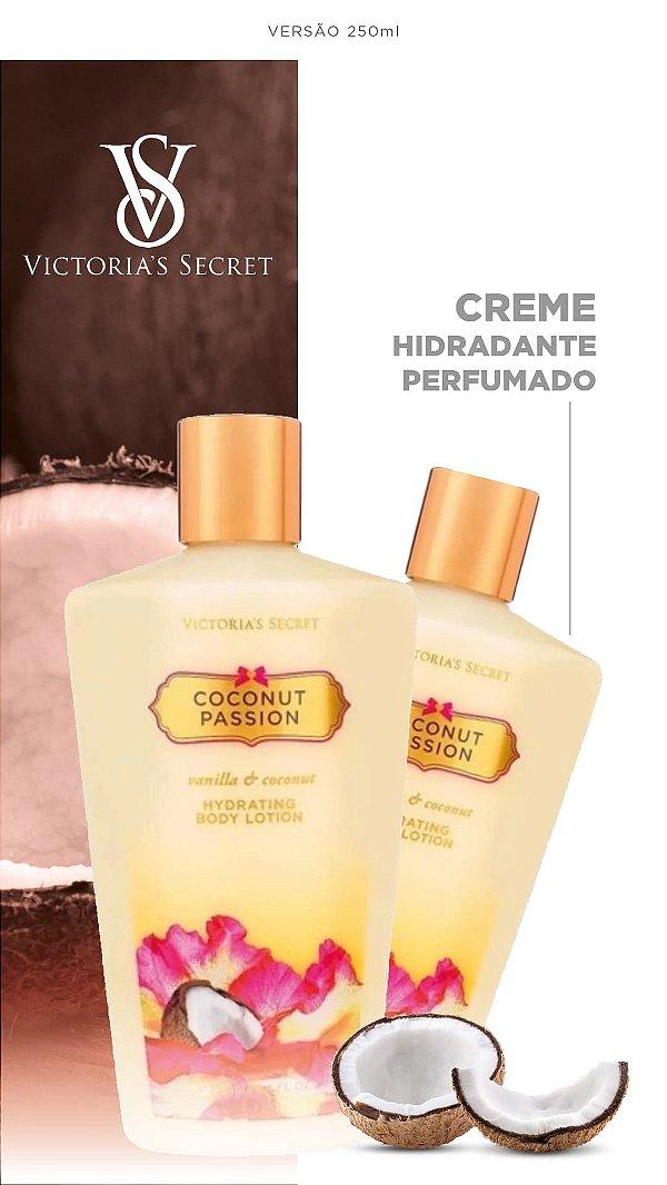 Creme Vitória Secrets 250ml | Coco | COCONUT PASSION