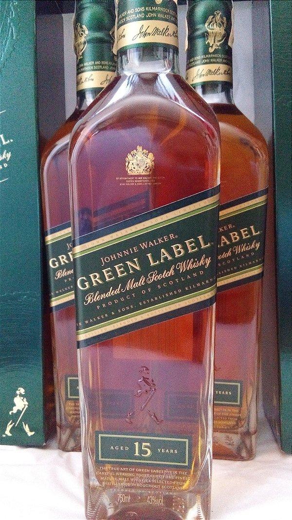 Johnnie Walker Green Label 15 anos 750ml