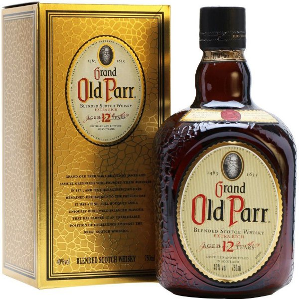 Whisky Old Parr 12 anos 1000ml