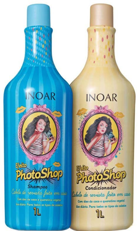 Kit Inoar Efeito Photoshop 2x 1000ml