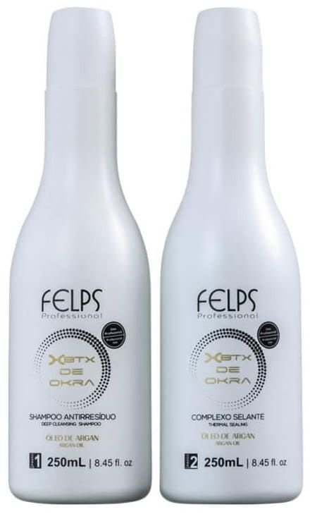 Escova Progressiva Felps de Quiabo 2x250ml