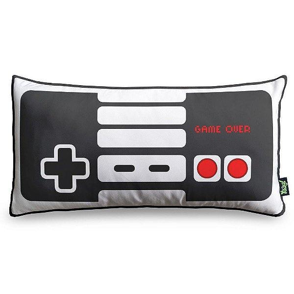 Almofada Gamer Joystick Nintendo NES 36 x 18 cm