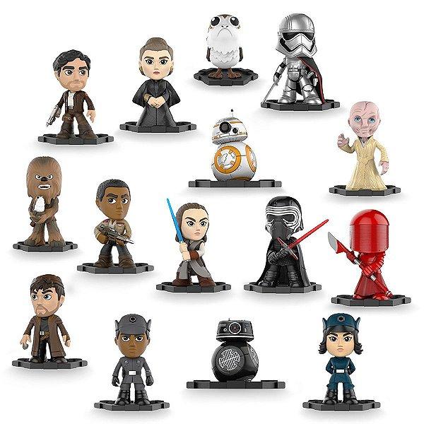 Colecionáveis Star Wars Mystery Mini Bobble Head The Last Jedi - Escolha seu modelo!