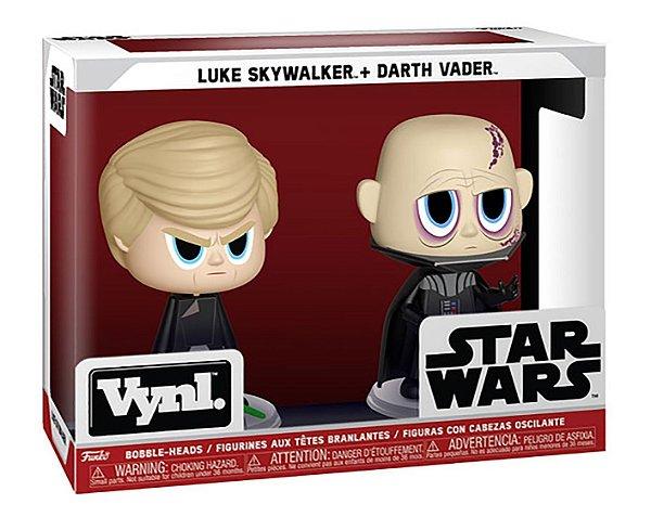 Funko Vynl: Star Wars - Darth Vader & Luke Skywalker