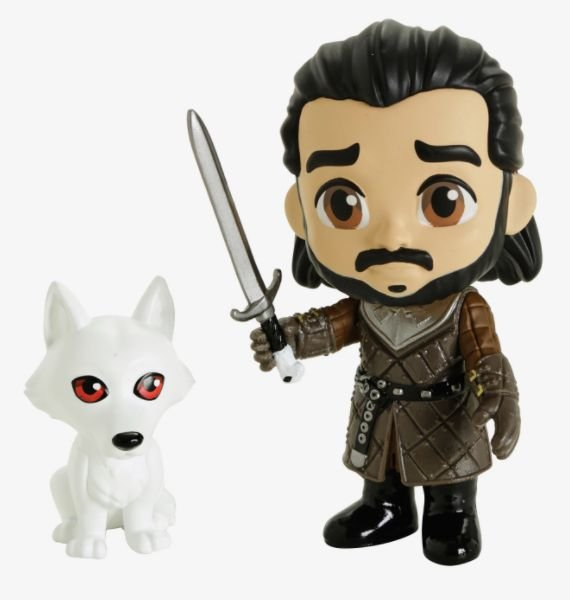 Funko Game of Thrones - Jon Snow e Fantasma - Série 5-Star