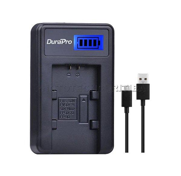 Carregador de Bateria Sony NP-FH50/FV50/FP50 Digital DuraPro