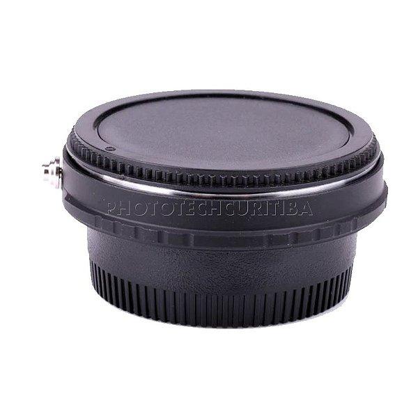 Adaptador de Lente Pentax Para Nikon Com Elemento Ótico PK-AI