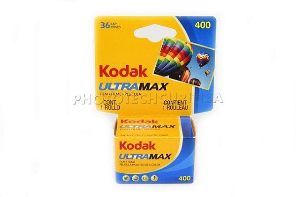 FILME KODAK 36 POSES ISO 400 ULTRAMAX