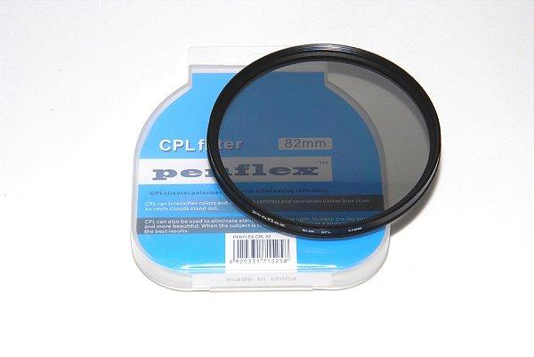FILTRO CPL 82mm PENFLEX (GREEN.L) POLARIZADOR
