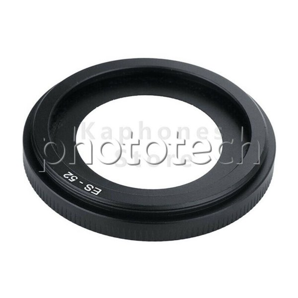 PARASOL CANON ES-52 CILINDRICO PARA CANON EF 40mm f/2.8 STM  EF-S 24mm f/2.8 STM
