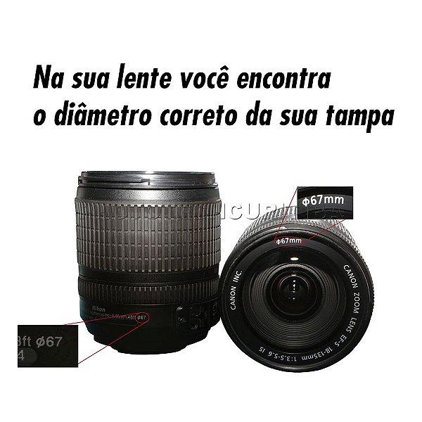 Tampa De Lente 55mm Greika