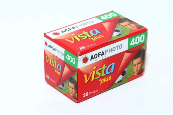 FILME AGFAPHOTO 36 POSES ISO 400 VISTA PLUS