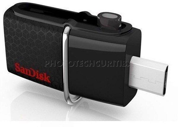 PEN DRIVE 16GB DUAL USB 3.0 SANDISK