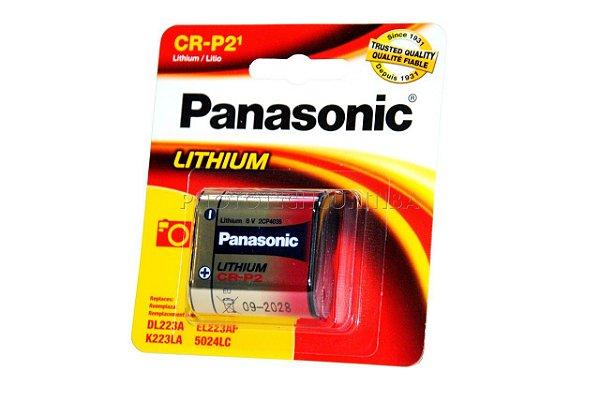 Bateria CR-P2 Panasonic EL223AP,  DL223A, K223LA, 5024LC
