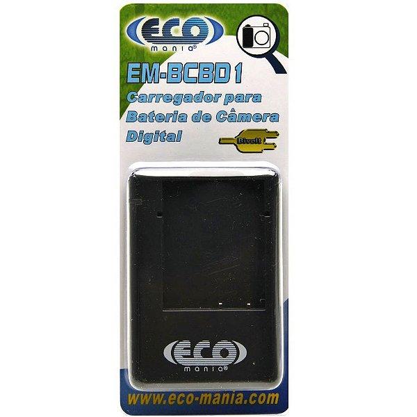 CARREGADOR SONY ECO MANIA EM-BCBD1 (P/ NP-BD1)