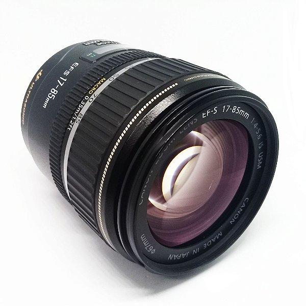 OBJETIVA CANON 17-85mm f/4-5.6 EF-S IS USM
