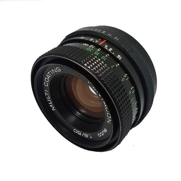 OBJETIVA PENTACON 50mm f/1.8