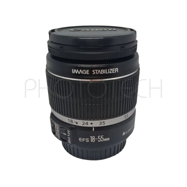 OBJETIVA CANON 18-55mm f/3.5-5.6 EF-S IS