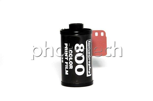FILME FOTOGRÁFICO LOMOGRAPHY 36 POSES ISO 800 COLORIDO