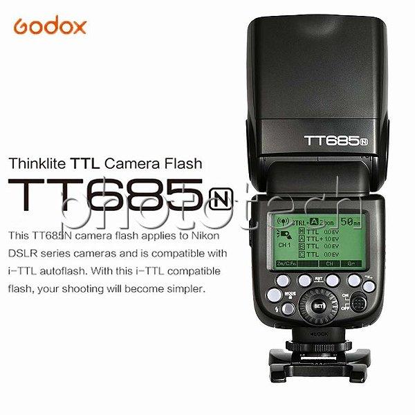 FLASH GODOX TT685N PARA NIKON i-TTL