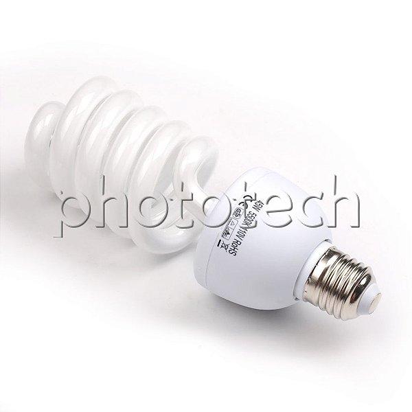 LAMPADA 45w 110v 5500k DAY LIGHT P/ ESTÚDIO FOTOGRÁFICO