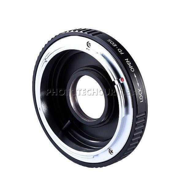 Adaptador De Lente Eletrônico Canon EOS EF/EFS Para Sony NEX E-Mount EOS-NEX Fotga
