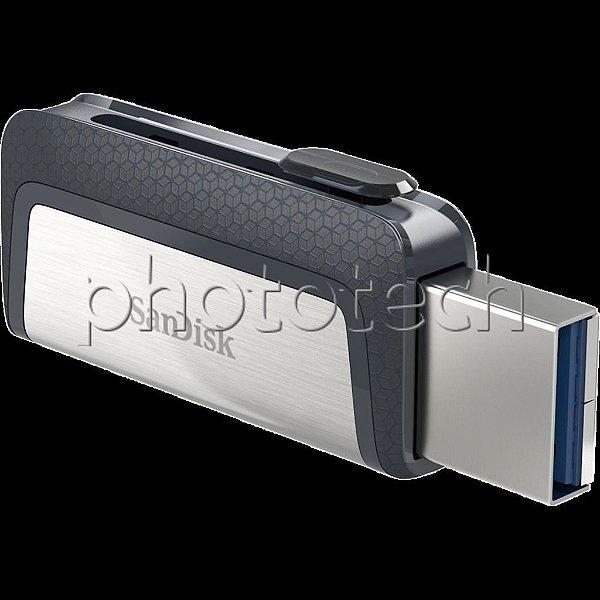 PEN DRIVE SANDISK DUAL DRIVE 16GB USB TYPE-C USB 3.1 130MB/s