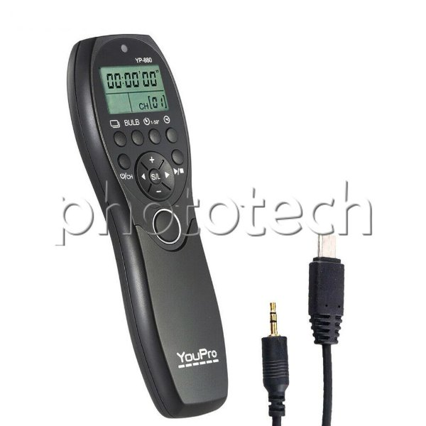 CONTROLE DISPARADOR SONY S2 YUOPRO YP-880 TIMER LAPSE