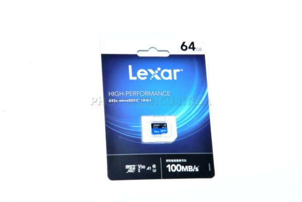 Cartão Micro SD Lexar High-Performance 64GB CLASS 10 100MB/s Micro SDXC UHS-I 4K Original