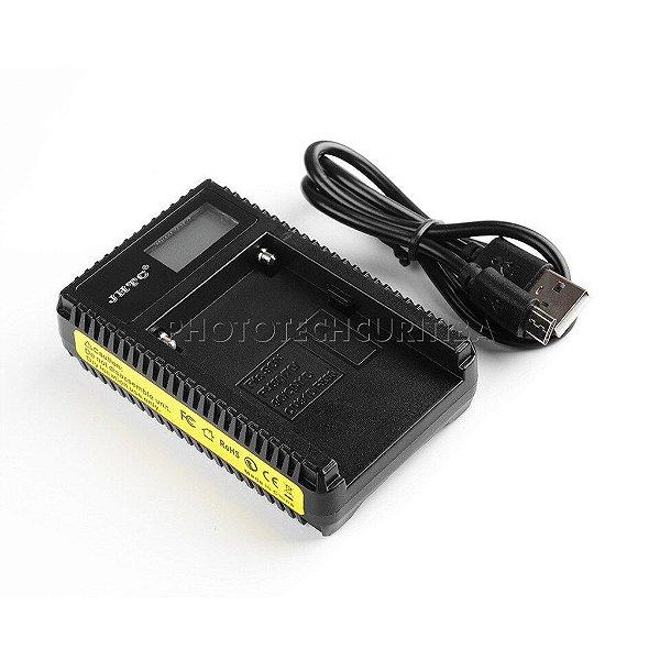 Carregador de Bateria Sony NP-F550/F570/F770/F950/F970 JHTC Digital