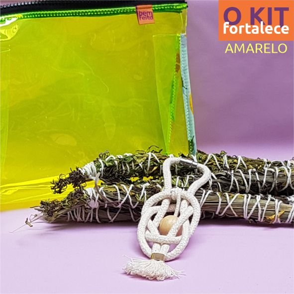 O Kit Fortalece   Amarelo