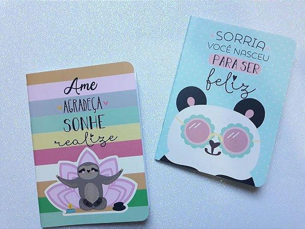Caderno Pontado Bichinhos