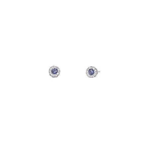 Brinco Ponto de Luz pequeno Micro Cravejado
